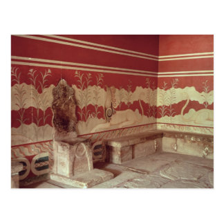 The Throne Room of Minos, 1500-1400 BC Postcard