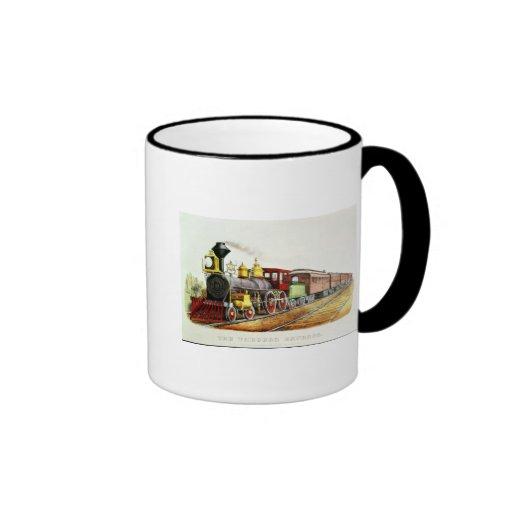The Through Express Mugs