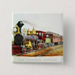 The Through Express Pinback Button