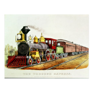 The Through Express Postcard