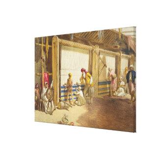 The Thug School of Industry, Jubbulpore, 1863 (chr Canvas Print