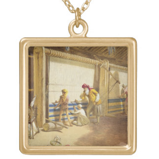 The Thug School of Industry, Jubbulpore, 1863 (chr Gold Plated Necklace