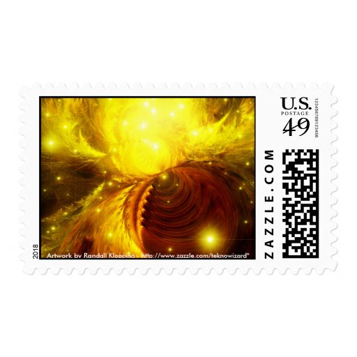 The Thurian Nebula Postage Stamp