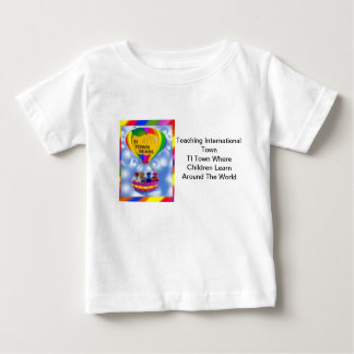 The TI Town Bears  T-  Shirt white 3