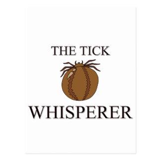 The Tick Whisperer Post Card