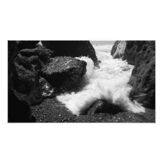 The tide comes rushing in photo print