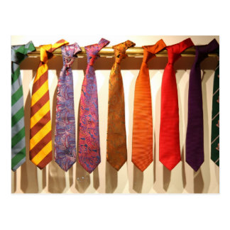 The Tie Collection Postcard