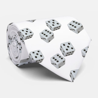 """THE TIE FOR THE """"MAN WHO LOVES DICE GAMES"""""""