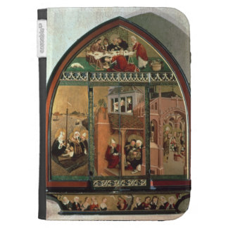 The Tiefenbronn Altarpiece (closed) 1432 (tempera Case For Kindle