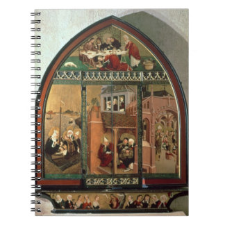 The Tiefenbronn Altarpiece (closed) 1432 (tempera Note Books