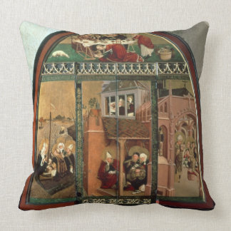The Tiefenbronn Altarpiece (closed) 1432 (tempera Pillows