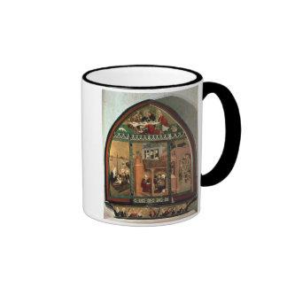 The Tiefenbronn Altarpiece (closed) 1432 (tempera Ringer Coffee Mug