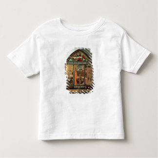 The Tiefenbronn Altarpiece (closed) 1432 (tempera Shirt