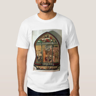 The Tiefenbronn Altarpiece (closed) 1432 (tempera T-shirts