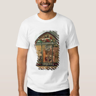The Tiefenbronn Altarpiece (closed) 1432 (tempera Tshirts