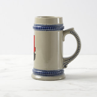 The Tien An Men Beer Stein