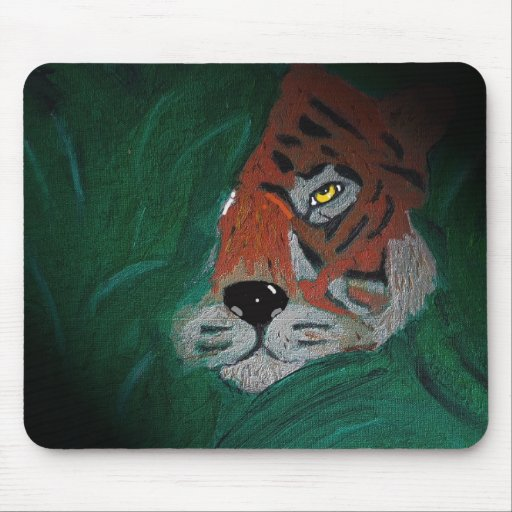 The tigar sleeps tonight mouse pads