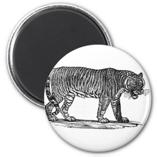The Tiger 2 Inch Round Magnet