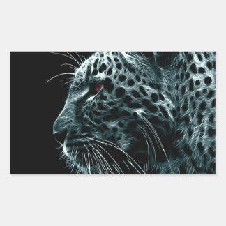 The Tiger Arcadia Collection Rectangular Sticker
