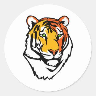 The Tiger Classic Round Sticker
