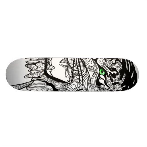 The Tiger Custom Skate Board