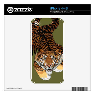 The Tiger Fish iPhone 4S Skins