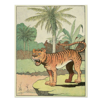 The Tiger Storybook Illustration Posters