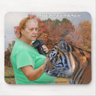 The Tiger Tamer Mouse Pad