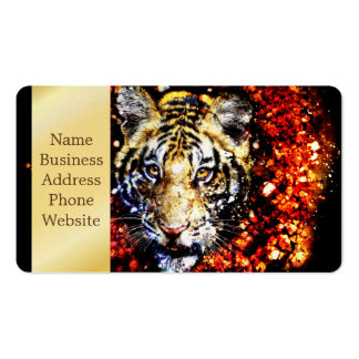 The tiger volcano business card