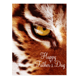 The Tiger's Eye Photograph Father's Day Postcard