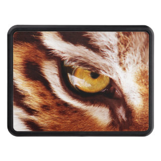 The Tiger's Eye Photograph Trailer Hitch Cover