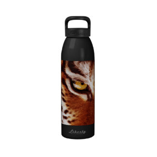 The Tiger's Eye Photograph Drinking Bottle