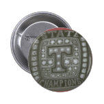 THE TIGERS RING PINBACK BUTTON