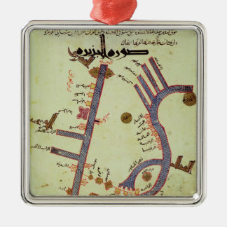 The Tigris and the Euphrates Metal Ornament