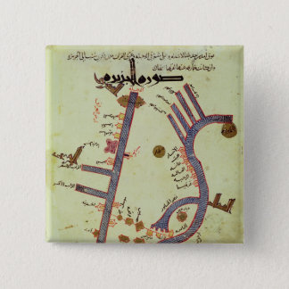 The Tigris and the Euphrates Pinback Button