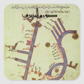 The Tigris and the Euphrates Square Sticker