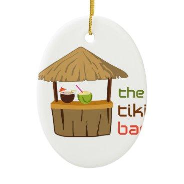 greatnotions The Tiki Bar Ceramic Ornament