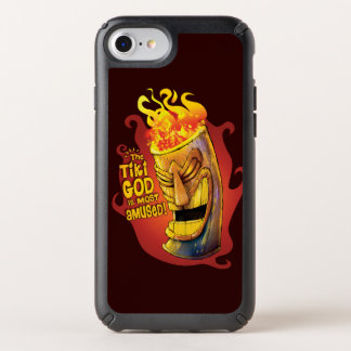 THE TIKI GOD IS MOST AMUSED! iPhone Case