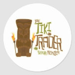 The Tiki Trader Basic Style Classic Round Sticker