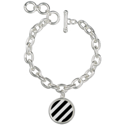 The Tilted Zebra Charm Bracelets