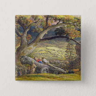 The Timber Wain, c.1833-34 (w/c & gouache on paper Button