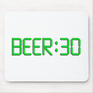 The Time Is Beer 30 Mouse Pad