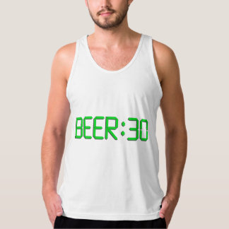 The Time Is Beer 30 Tank Top