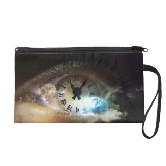 The Time is Now Wristlet