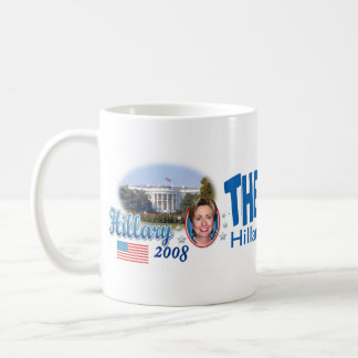 The Time Is Now! Hillary Mug