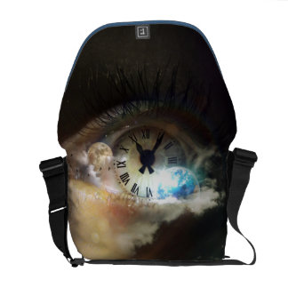 The Time is Now Messenger Bag