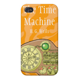The Time Machine - H. G. Wells Cases For iPhone 4