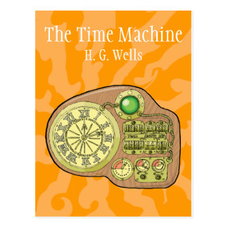The Time Machine - H. G. Wells Postcard
