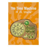 The Time Machine - H. G. Wells Poster