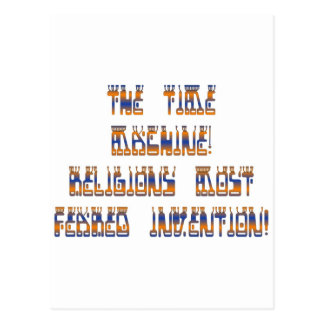 The Time Machine; Religions most feared invention! Postcard